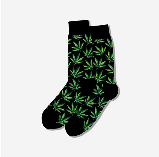 420 Socks in Black
