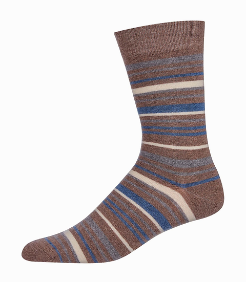Stripped Cashmere Socks