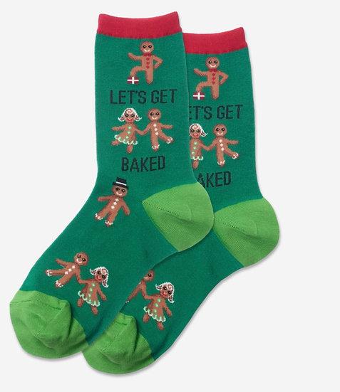Lets Get Baked Socks