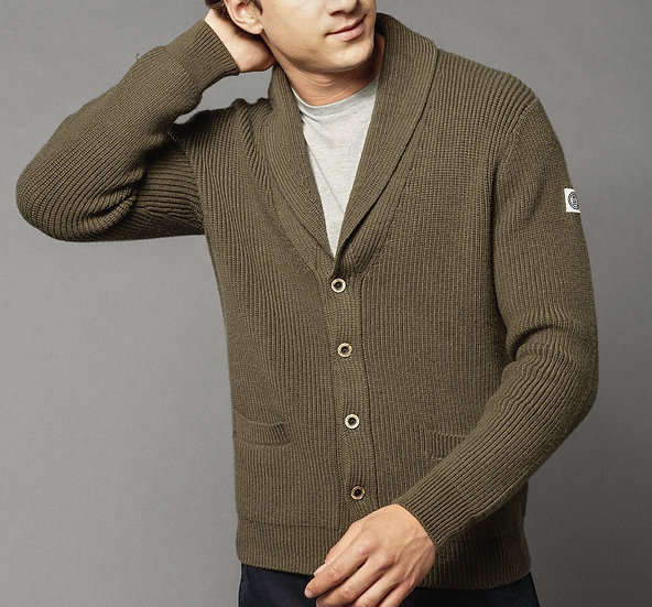 Shaw Collar Cardigan