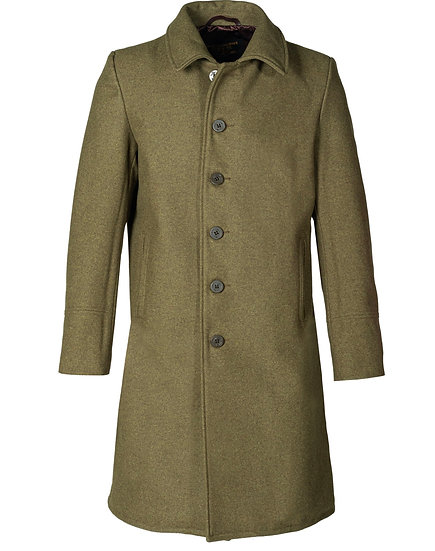 Officers Coat in Olive