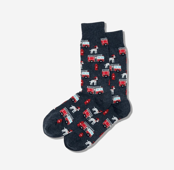 Dalmatian Firetruck Socks