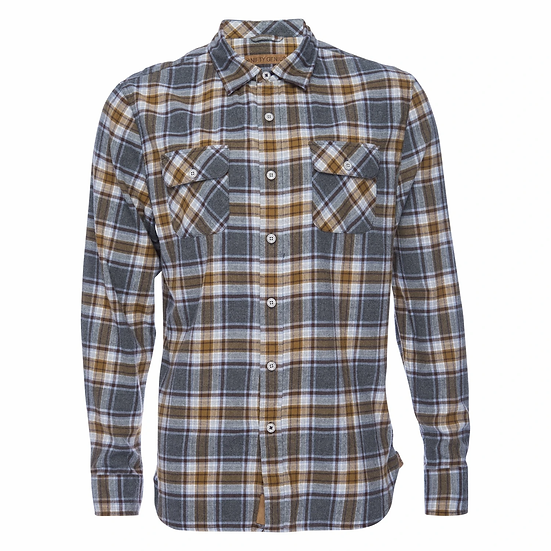 Truman Shirt Caramel Plaid