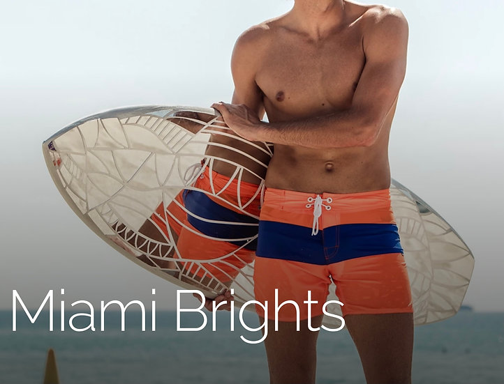 Miami Bright Board Shorts