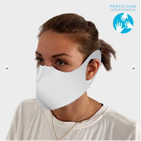 Masque papier à personnaliser