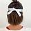 Visière de protection de dos avec accroche blanche