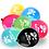 Ballon de baudruche grande taille fête événement personnalisable mix de couleurs