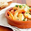 Shrimp al Ajillo.