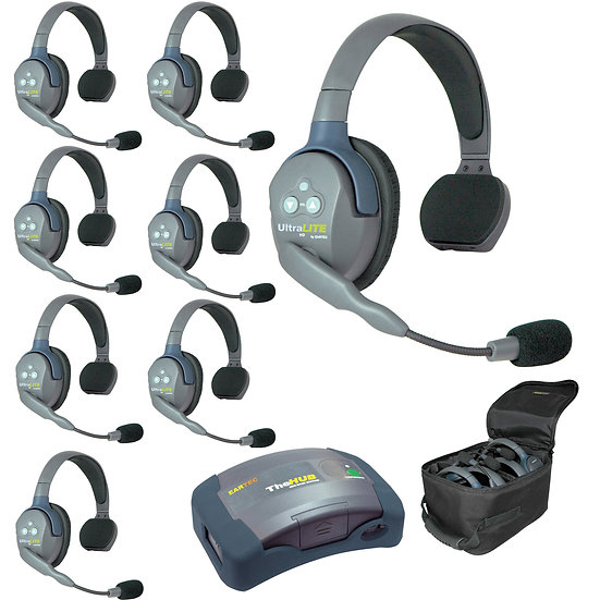 Eartec HUB8S UltraLITE 8-Person