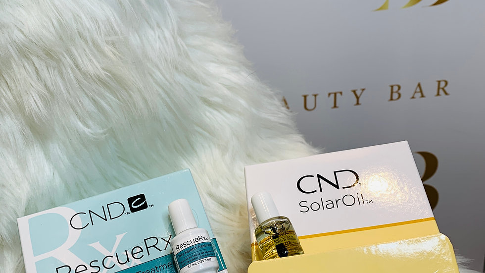 Nail Rescue& Cuticle Oil DUO