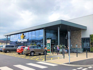 Morrisons, Abergavenny - Store Front
