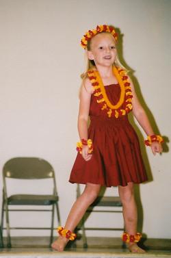 Mel, age 5