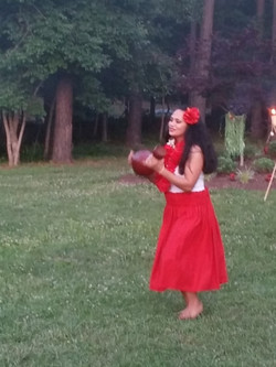 Hula with implements