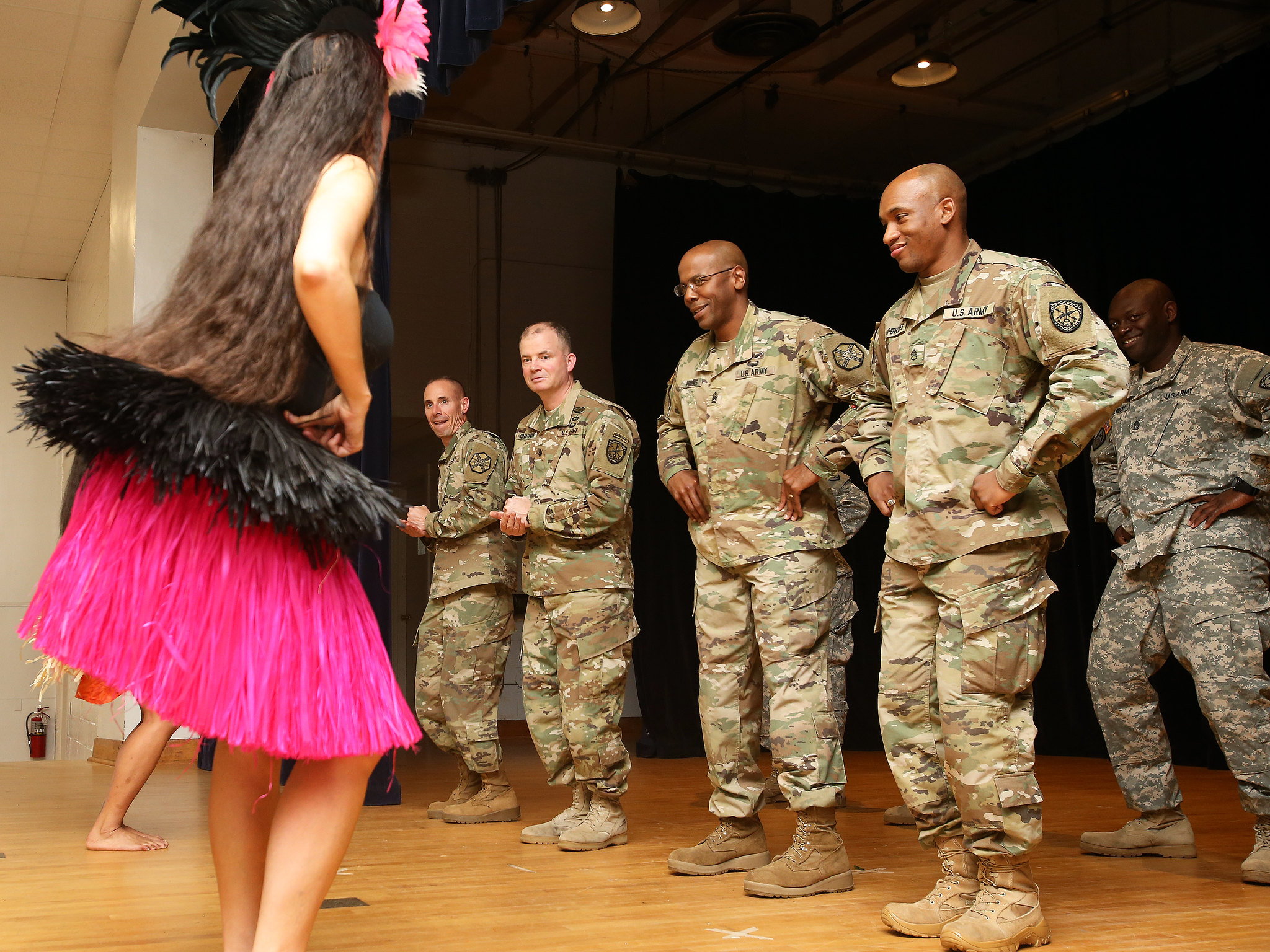 Teaching soldiers to dance