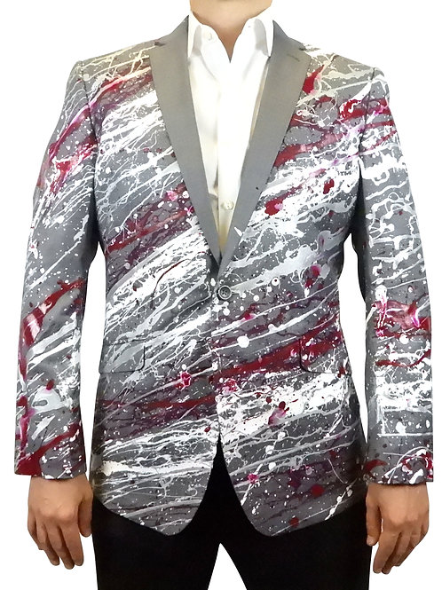THE ROLLING TIDE Painted Jacket Blazer
