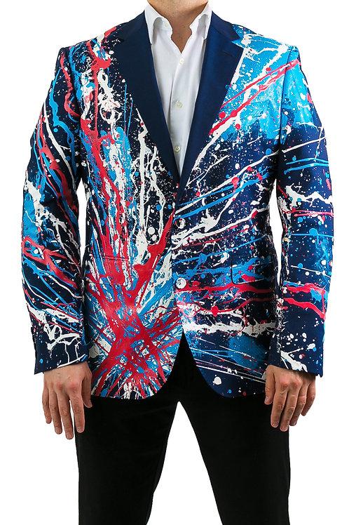 USA A-OKAY Painted Blazer