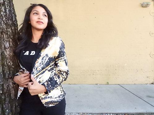 THE SAINT Women's Painted Jacket Blazer