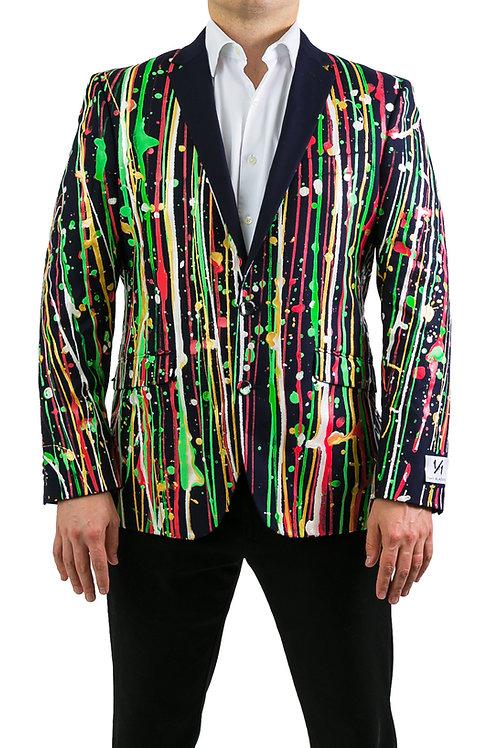 THE CHRISTMAS Painted Blazer