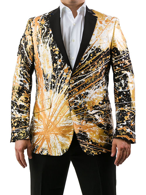 THE SAINT Painted Blazer