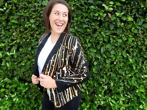 THE GREAT GATSBY Women's Painted Jacket Blazer