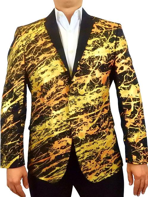 THE SINNER Painted Jacket Blazer