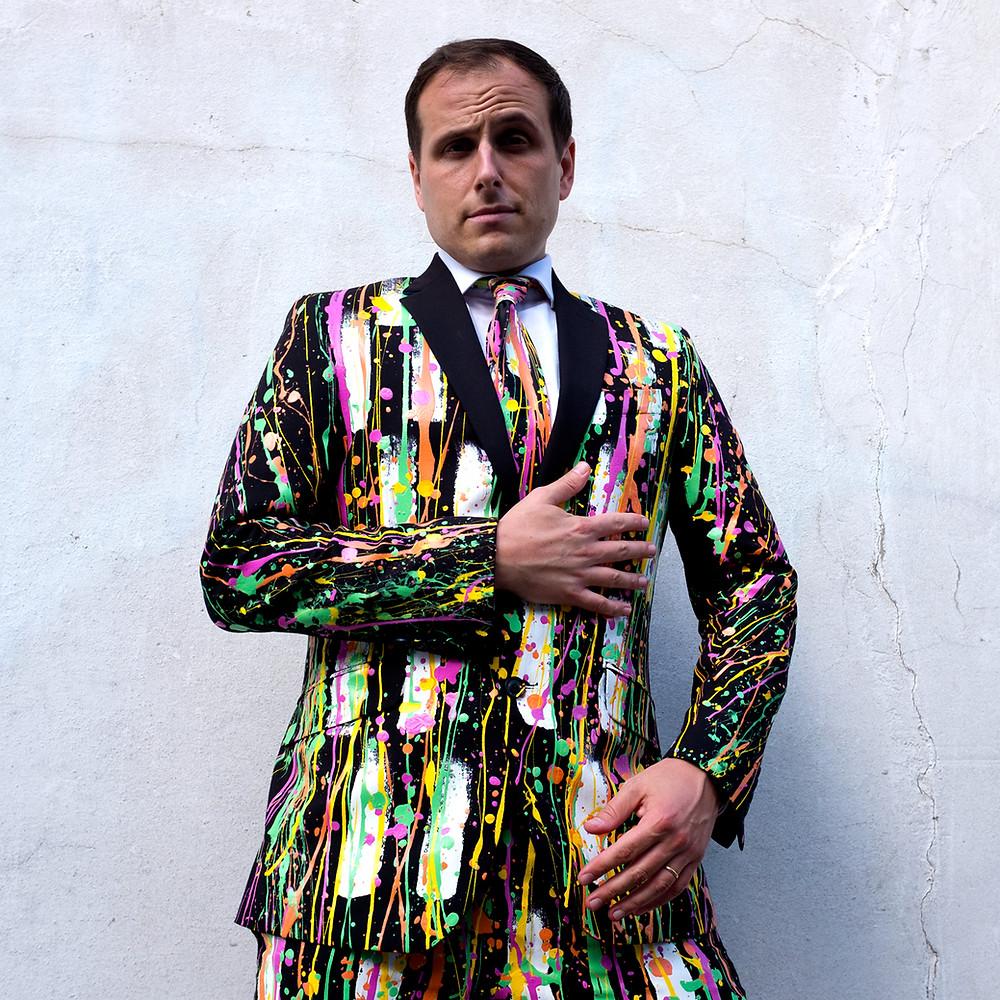 wacky men's suits