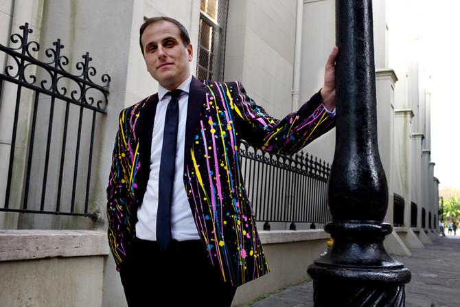 Custom Painted Men's Suits