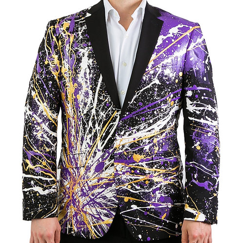 THE PURPLE BLAZE Painted Blazer