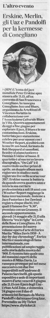 Conegliano Festival 2018 - UAZ Rassegna Stampa