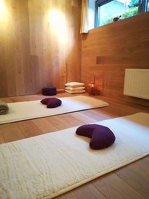 yoga ruimte / yoga studio