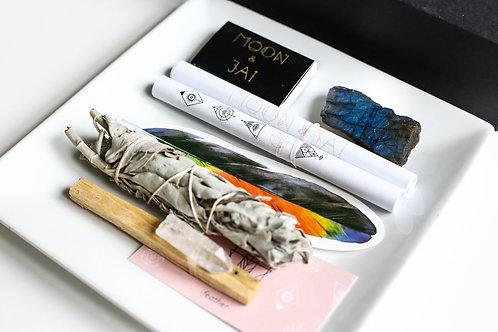 Manifest Ritual Kit with Labradorite