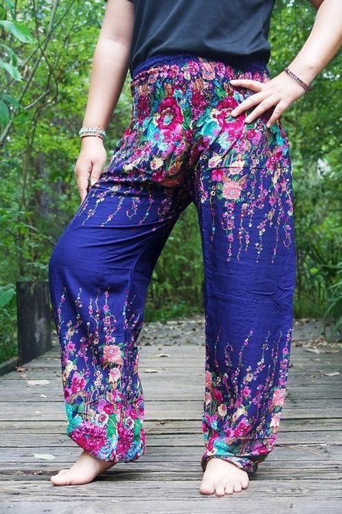 FLORAL Women Harem Pants Boho Pants Hippie Pants