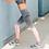 Thumbnail: Pink/Peach Ombre Sports / Yoga Leggings