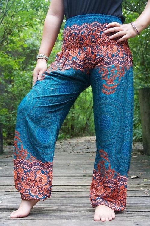 MANDALA Women Harem Pants Boho Pants Hippie Pants