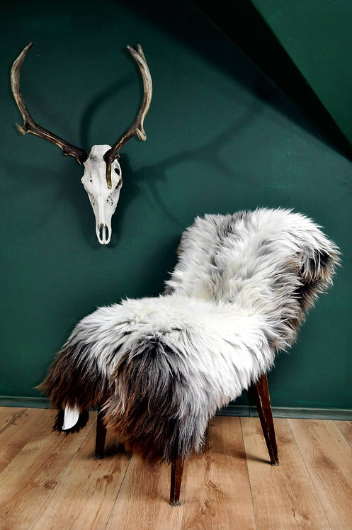 Gray Rare Breed Sheepskin Rug. | HUGE 140cm