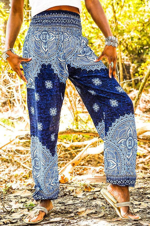 Goddess MANDALA Women Boho Pants Hippie Pants Yoga