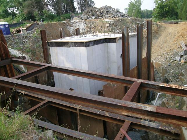 Waxpool Pump Station Support of Excavation