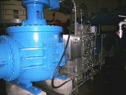 Dalecarlia WTP Triple Offset Discharge Valve