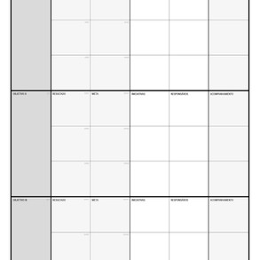 canvas de objetivos & resultados