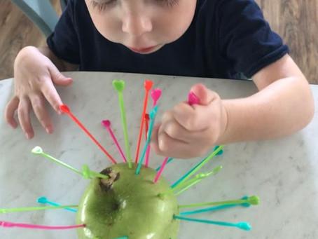 Playing Preschool Unit 1: Apples
