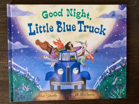Book Review: Good Night, Little Blue Truck