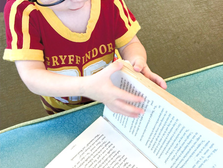 Raising a Reader: Begin with the End in Mind
