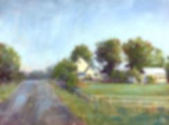 Summer Drizzle 9x12 #softpastel #landsca
