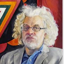 Portrait of Phil Hine by Asa Medhurst
