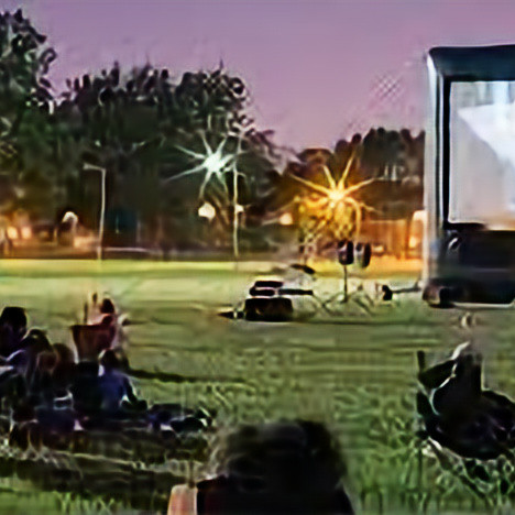 Movie on the South Lot