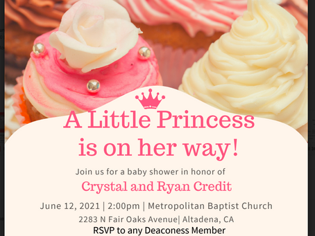 A Little Princess is on the Way!