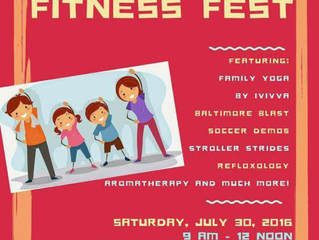 The Secret is Out! Sign Up for our FREE Family Fun Fitness Fest