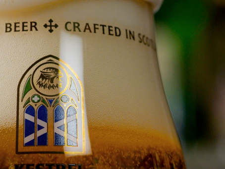 Kestrel Beer 'Brewed for the Bold' Campaign