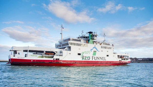 Red Funnel | Red Goes Green