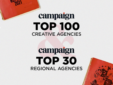 Walker listed in 2021 Top Rated Creative Agencies